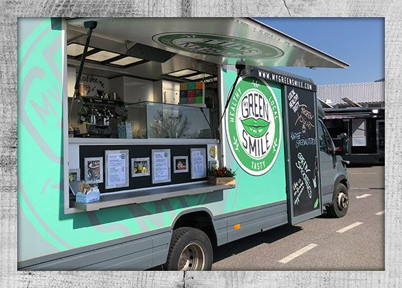 My Green Smile Foodtruck Offen